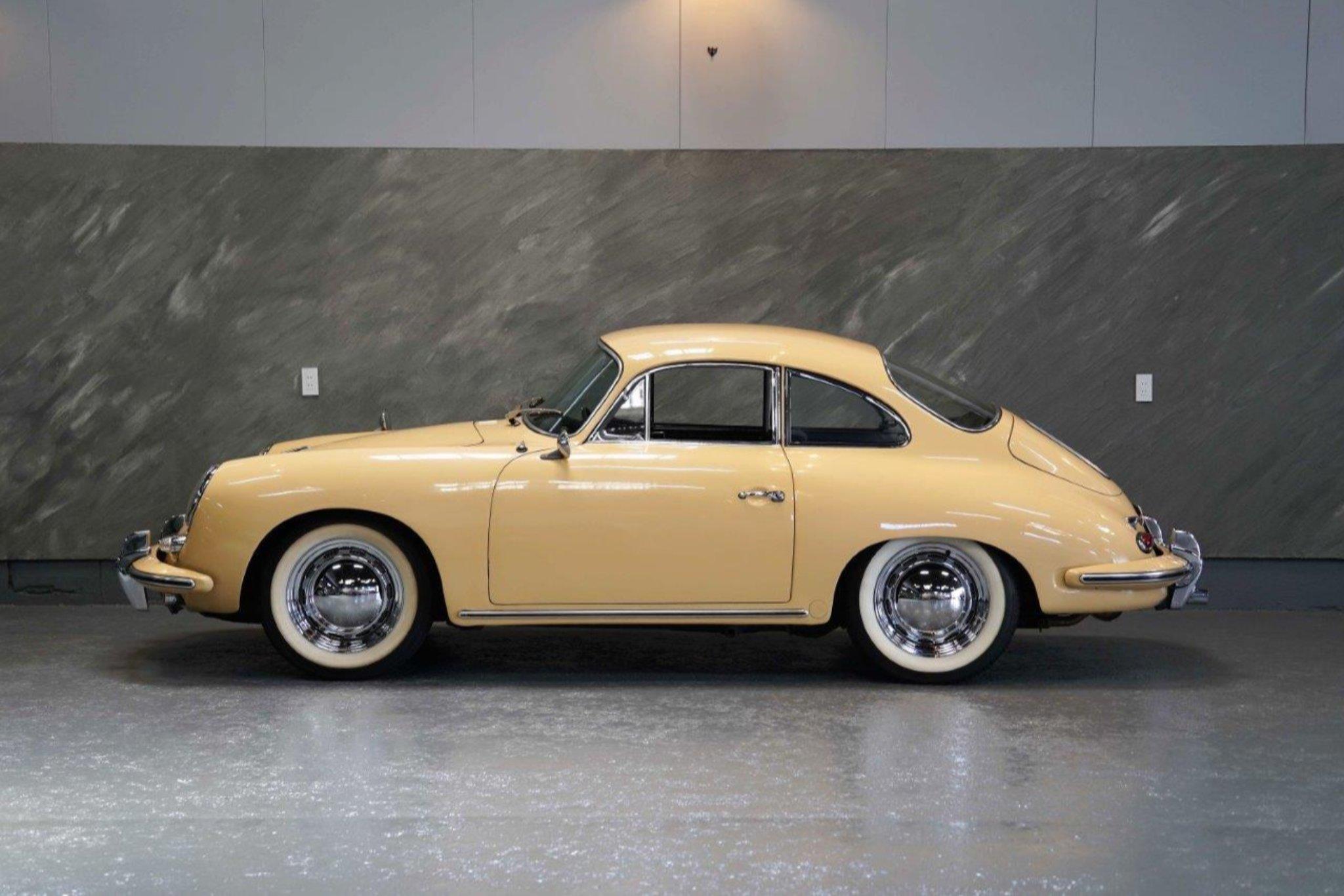 1962 年 ポルシェ 356Bクーペ