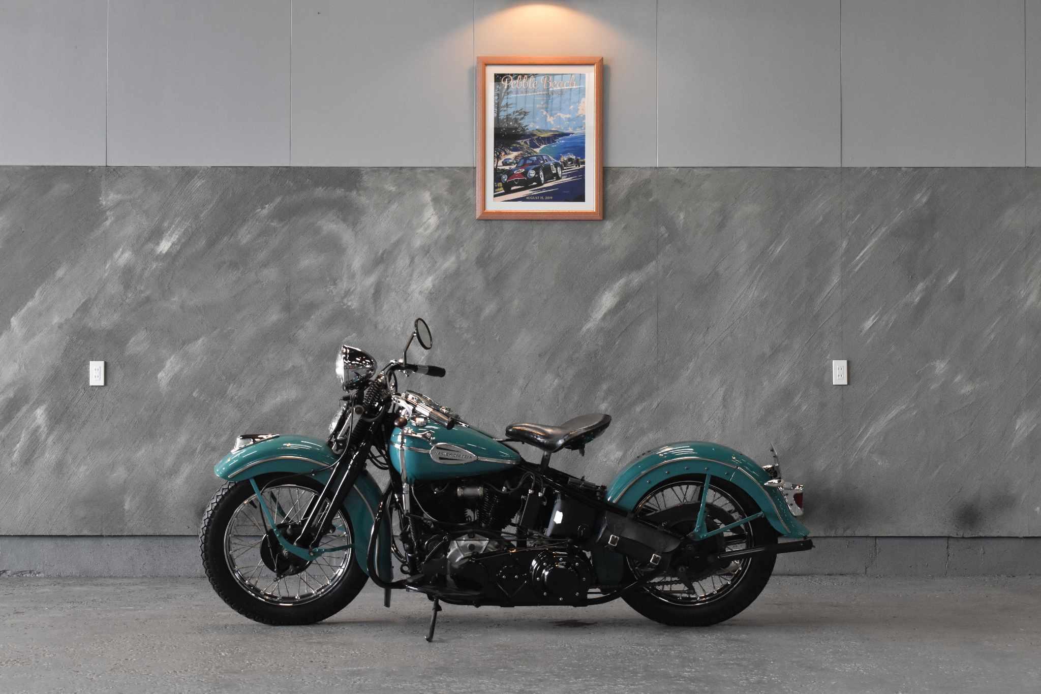 1941 年 ハーレーダビットソン EL ナックルヘッド 1000cc